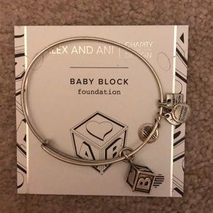 Alex and Ani - baby block